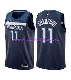 Minnesota Timberwolves Trikot Herren 2018-19 Jamal Crawford 11# Icon Edition Basketball Trikots NBA ..